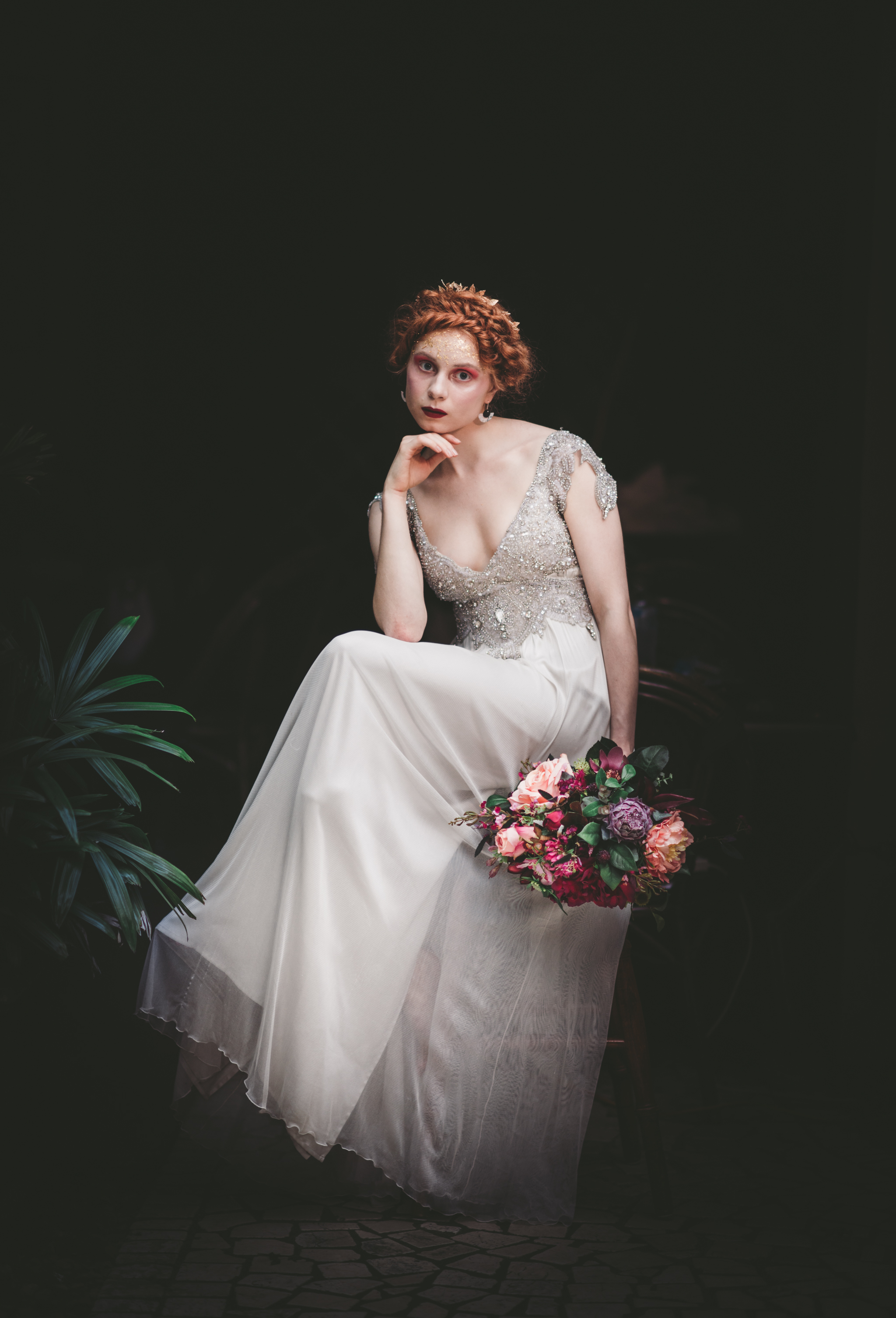 Lovelenscapes Bridal Editorial Photography • Anna Campbell Bridal • Annabella Gown • Alphonse Mucha X Vogue • Ruby