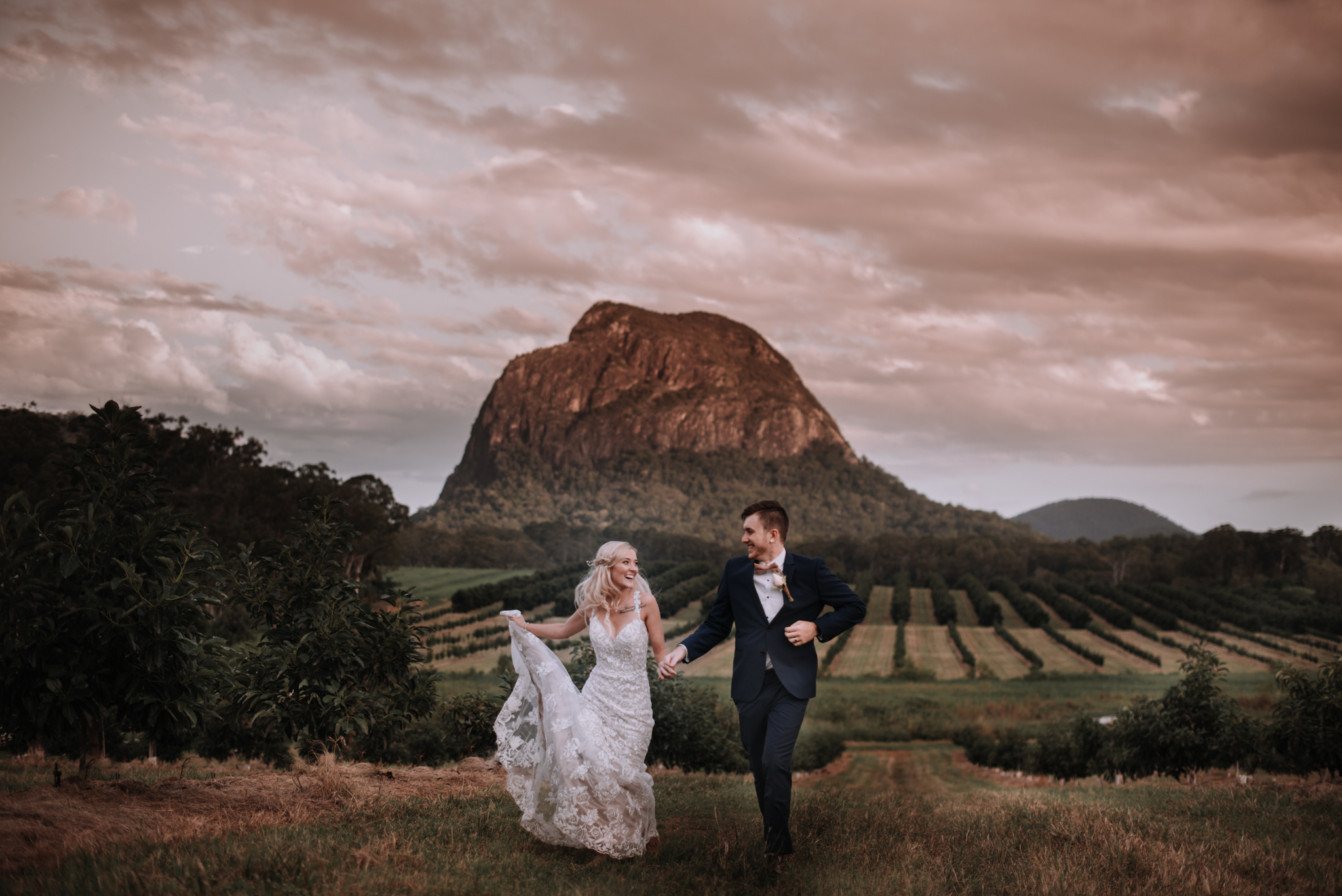 Lovelenscapes Photography • Visual Poetry • Sunshine Coast Wedding Photographer • Beerwah Hideaway Wedding • Luv Bridal Lace Wedding Gown