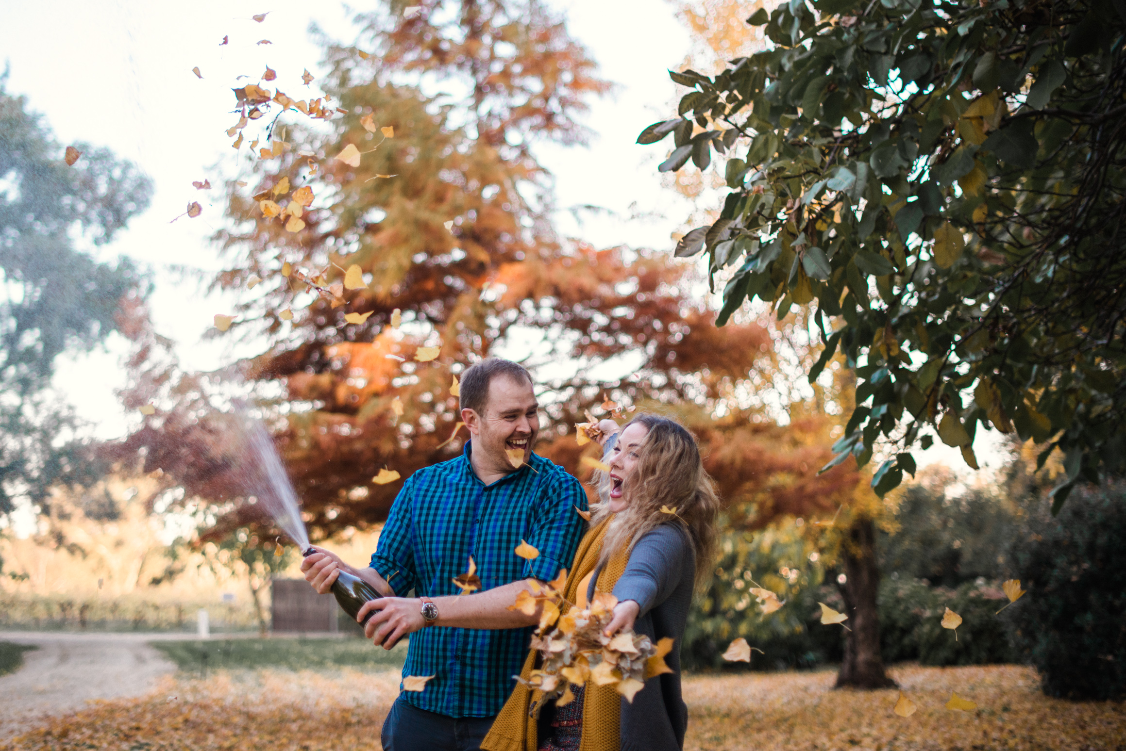 LOVELENSCAPES PHOTOGRAPHY • VISUAL POETRY • JACQUI & CHRIS • TAHBILK WINERY ENGAGEMENT • AUTUMN ENGAGEMENT • 17.jpg