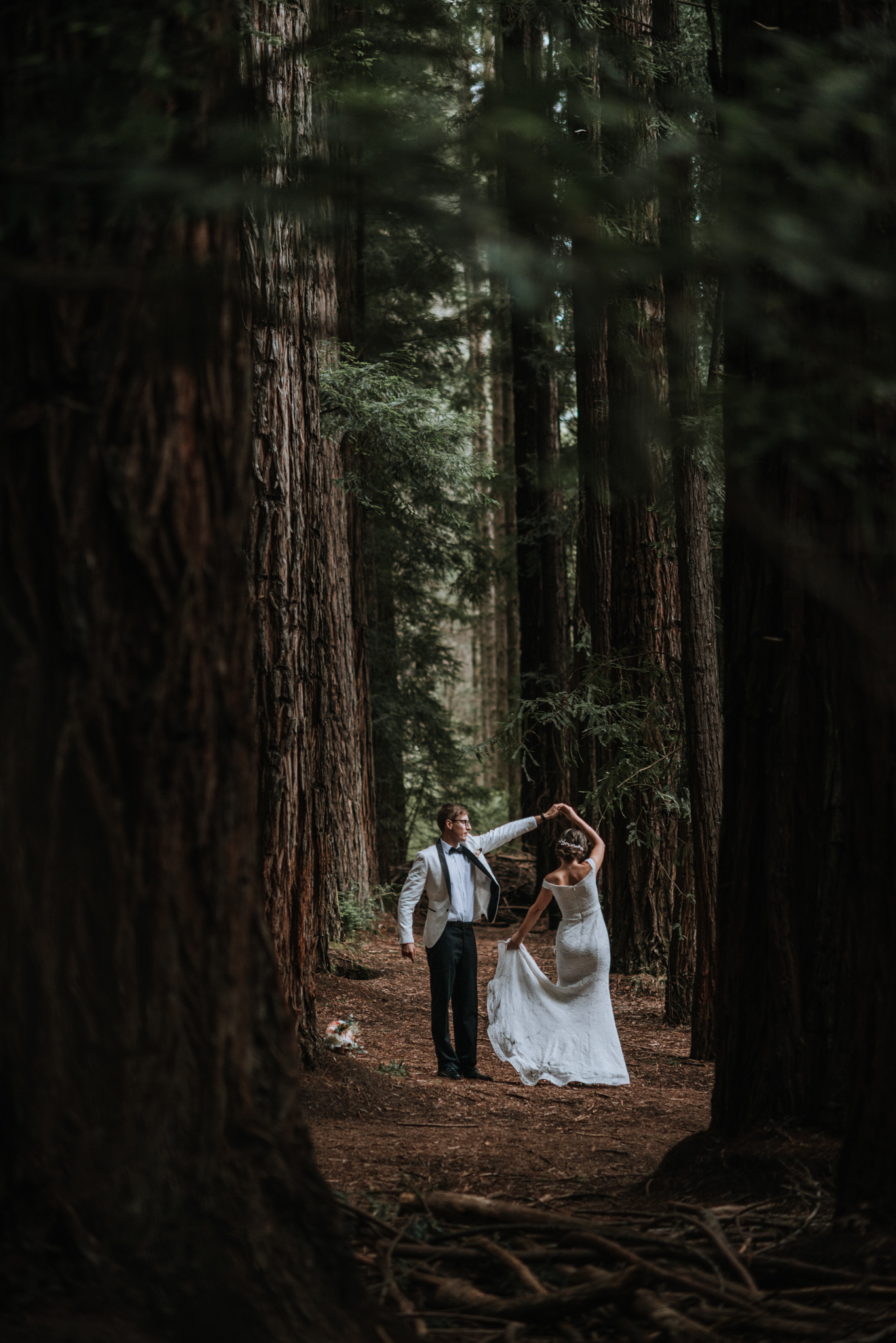 Warburton Redwood Forest Elopement