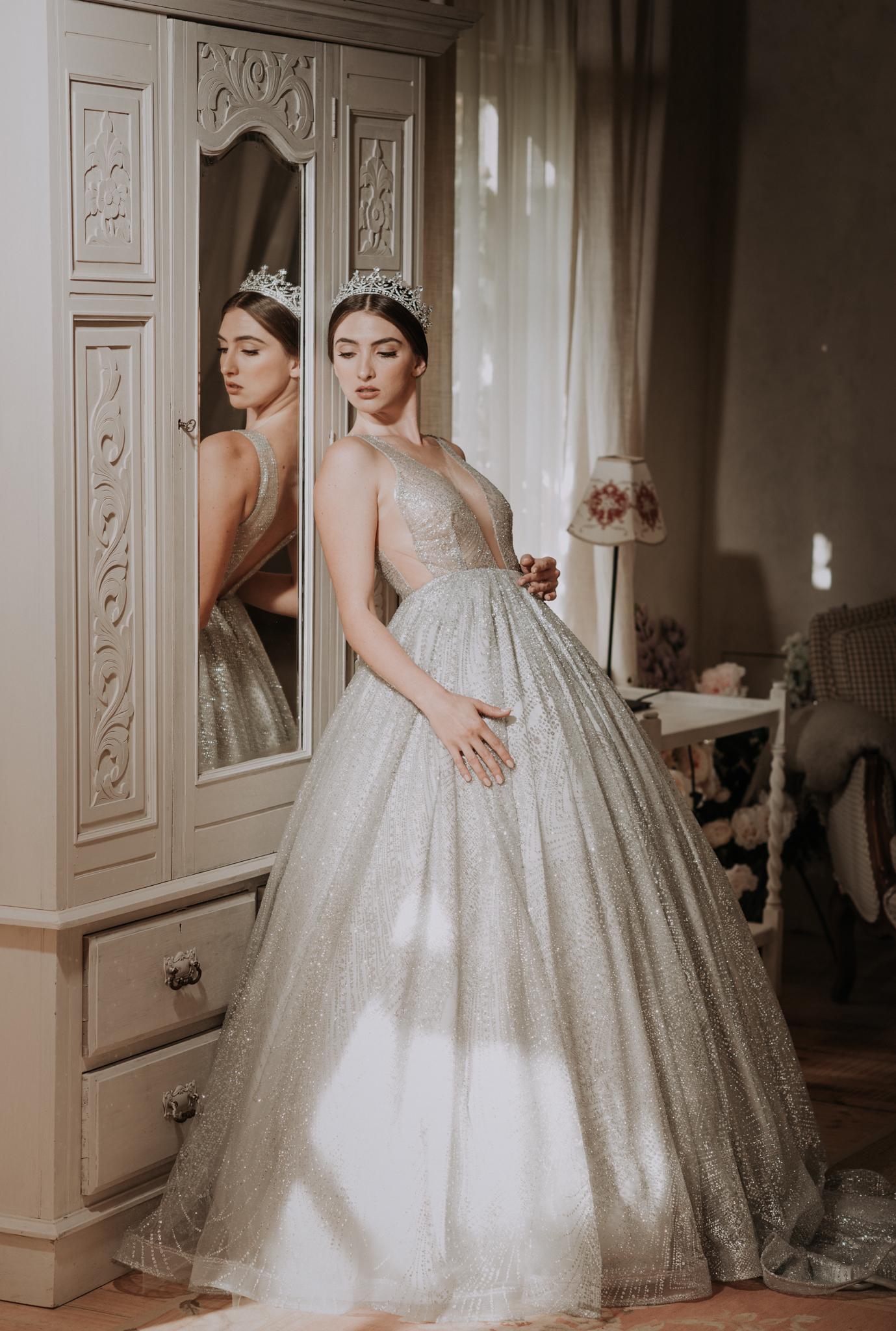 Ulyana Aster Bridal Wedding Gown • Deux Belettes Byron Bay Wedding Photographer • Lovelenscapes