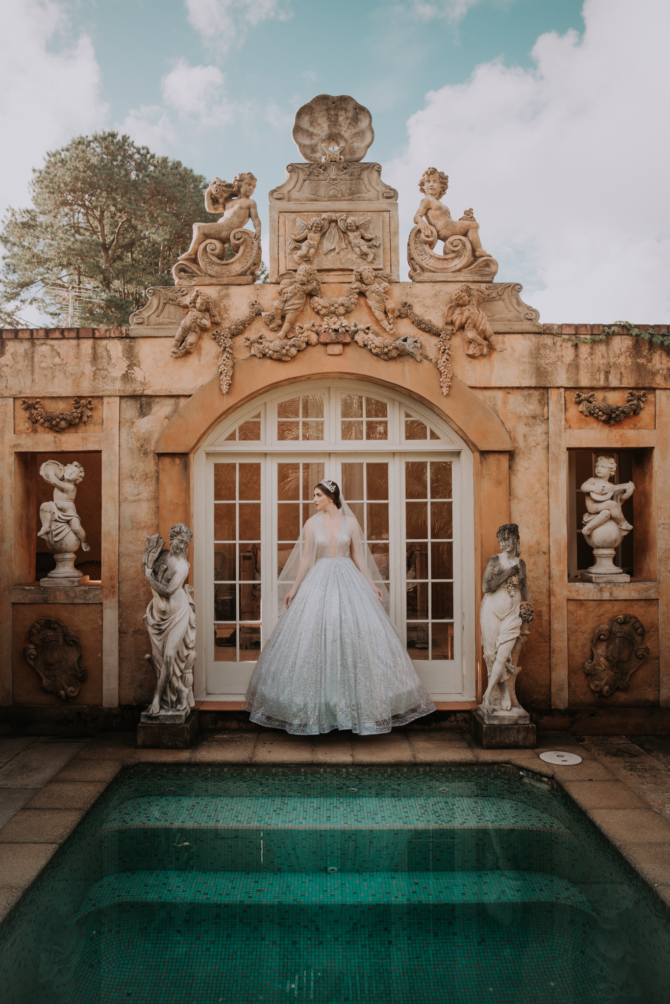 Ulyana Aster Bridal Wedding Gown • Deux Belettes Byron Bay Wedding Photographer • Lovelenscapes • Bloodwood Botanica • Leigh McCoy