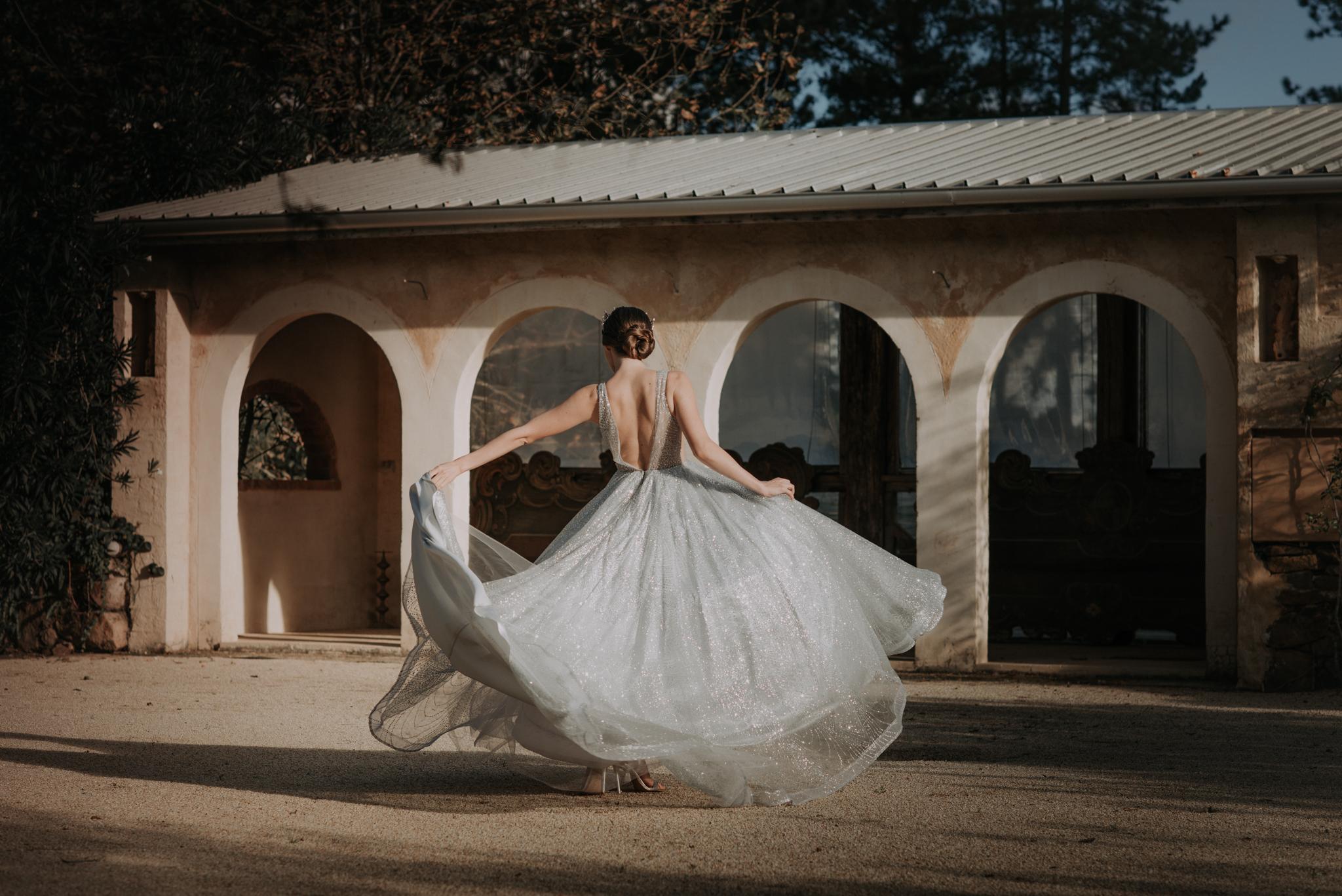 Ulyana Aster Bridal Wedding Gown • Deux Belettes Byron Bay Wedding Photographer • Lovelenscapes • Fashion Photographer • Bloodwood Botanica • Leigh McCoy