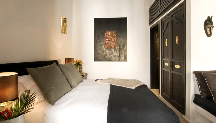 Click on the image to see more Riad's rooms !