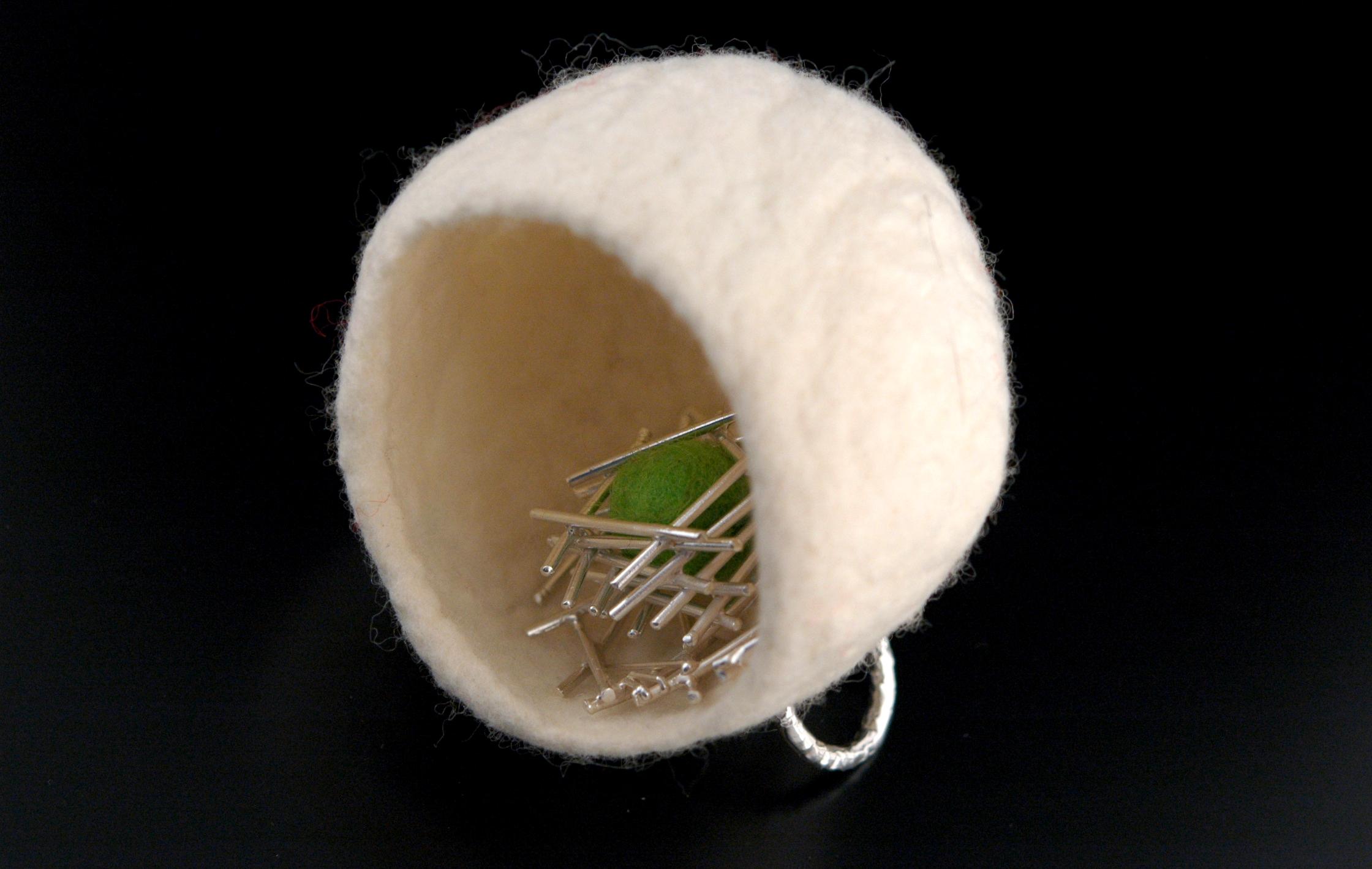 C14 -3.01 - ring, sterling silver, felted wool.JPG