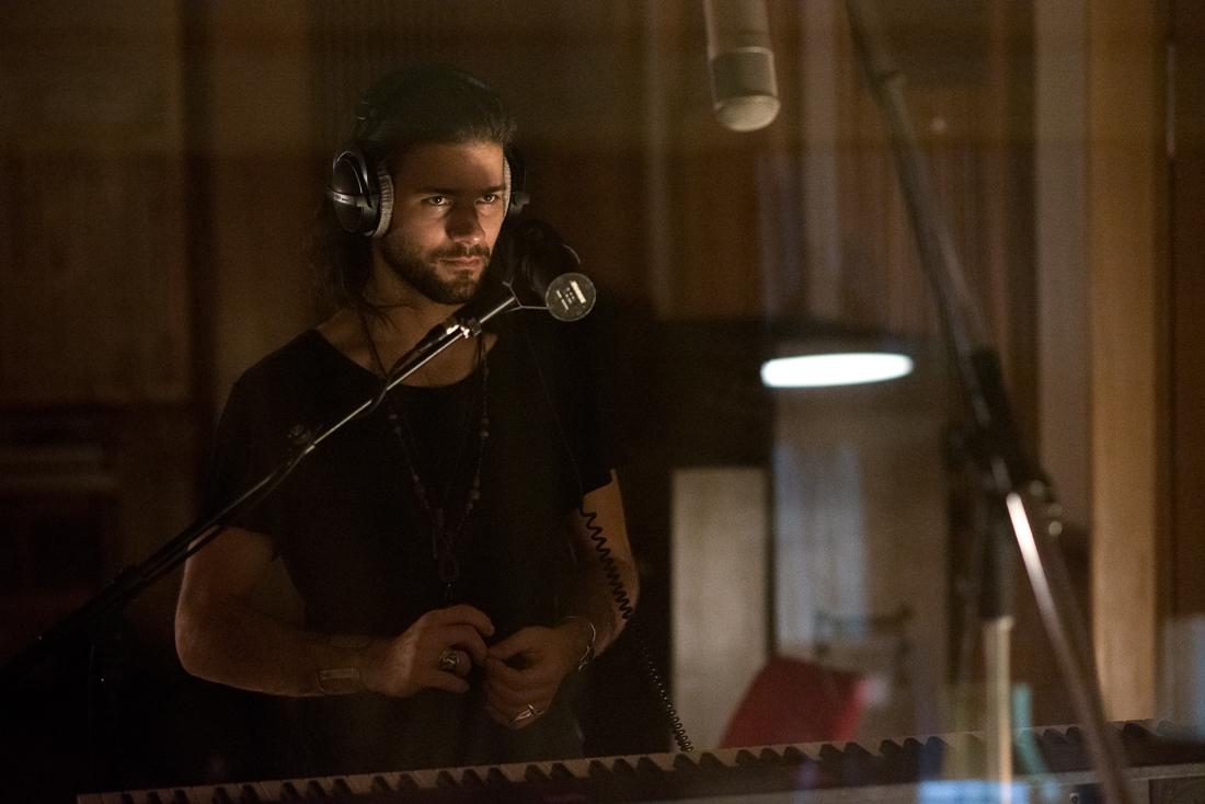 Béranger, musician - Recording at Funkhaus Berlin