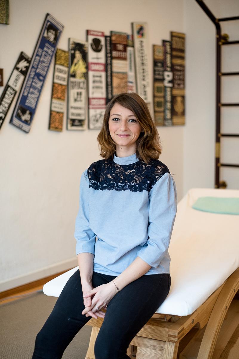 Jennifer Delaby - Chiropractor in Berlin.