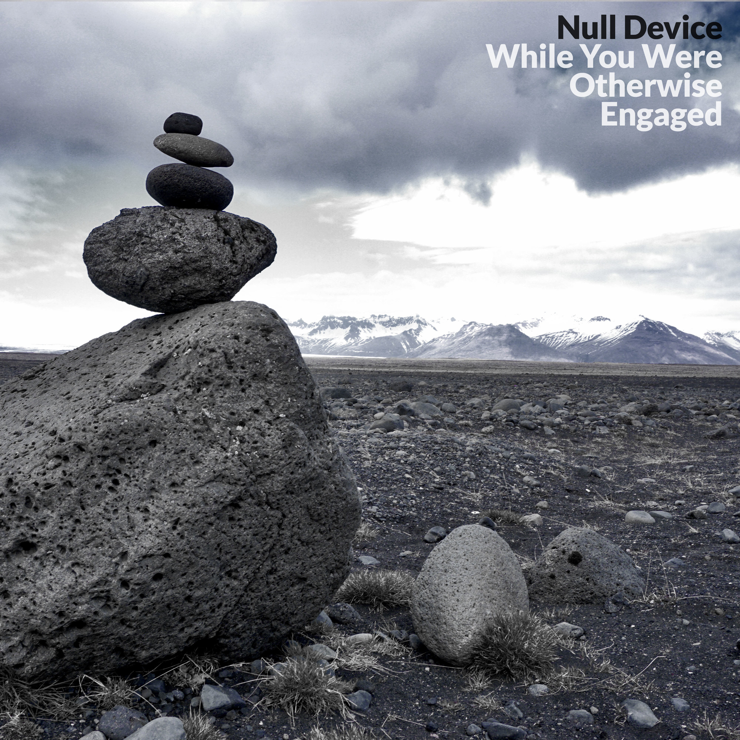"""""""While You Were Otherwise Engaged"""" is Null Device's sixth full-length album, and their first for Distortion Productions, LLC."""