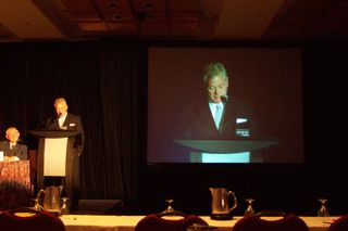 Opening session at the IWA Biosolids Specialist Conference, June 2007, Moncton, NB.