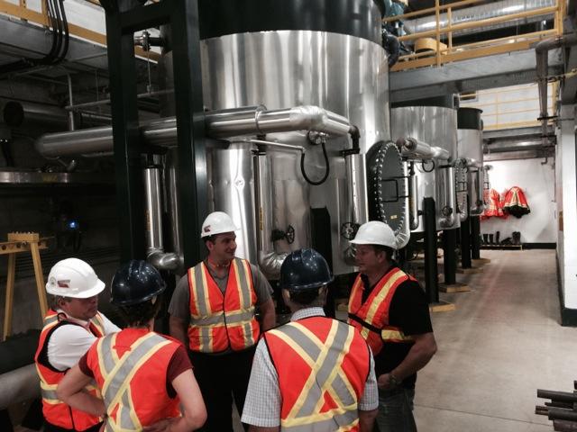3 Lystek process tanks at Dundalk facility.