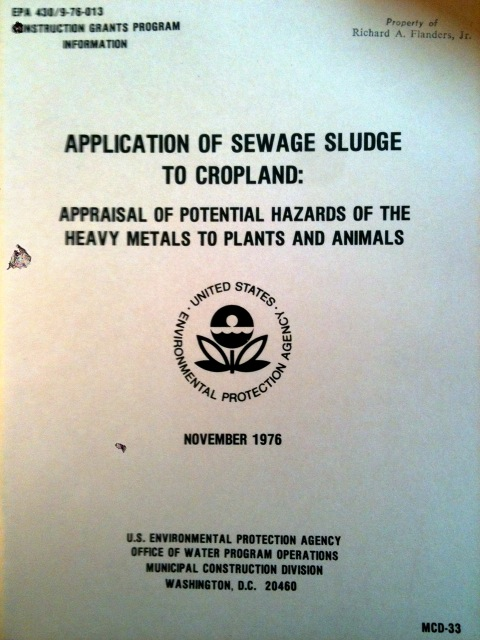 Ongoing, focused research on sludge application to soils dates back to the 1970s and earlier. There are thousands of peer-reviewed papers regarding benefits and safety concerns.