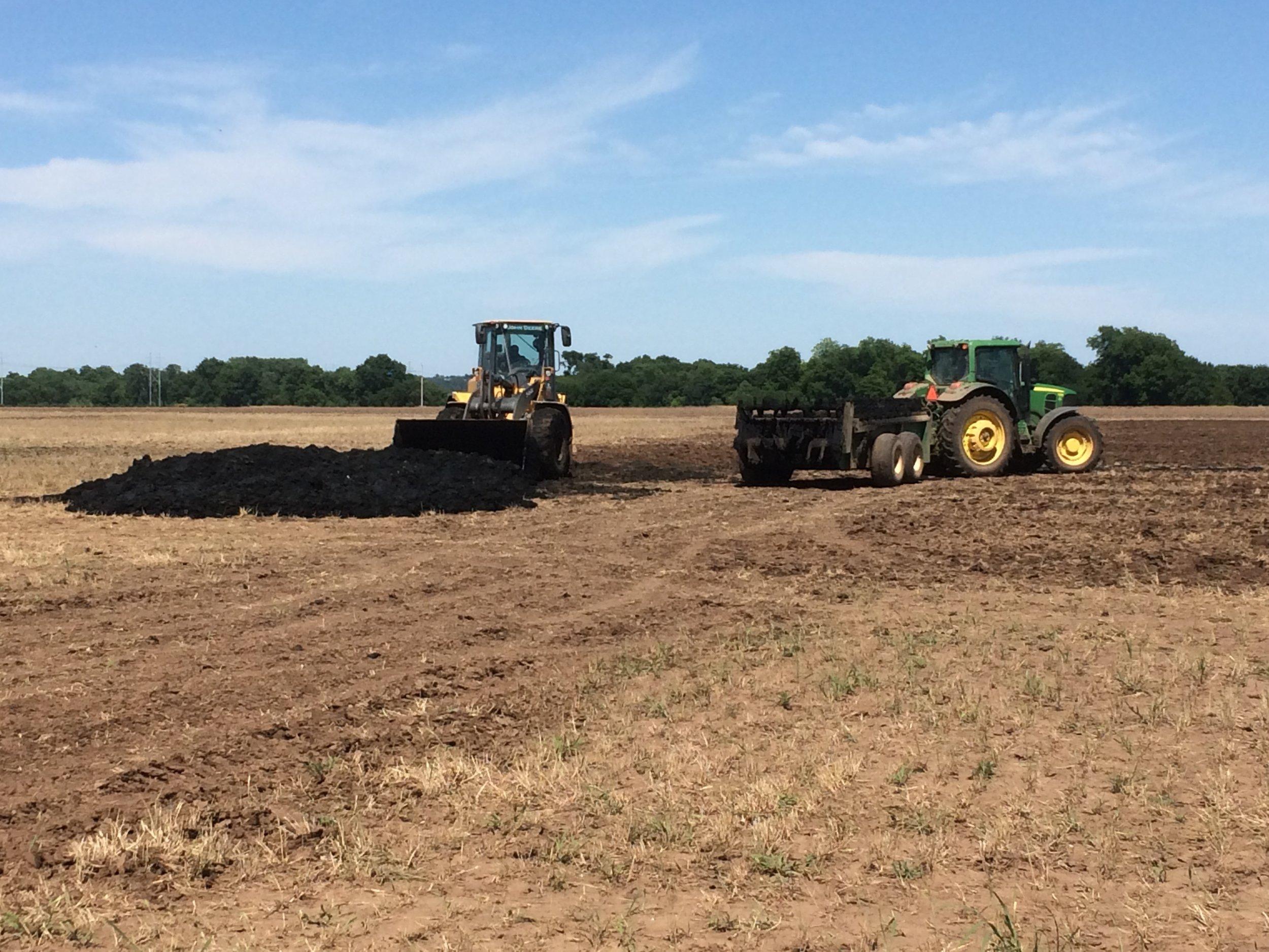 Oklahoma City biosolids land application program, 2016