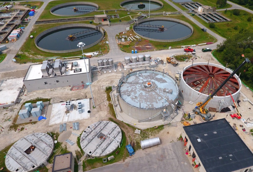 A 4th, new anaerobic digester at GLSD  will   recycle food waste & generate renewable energy - enough to power the facility!