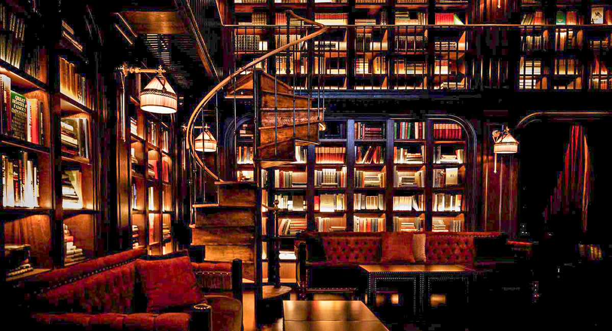 The Library at the Nomad Hotel | Photograph courtesy of The Nomad Hotel