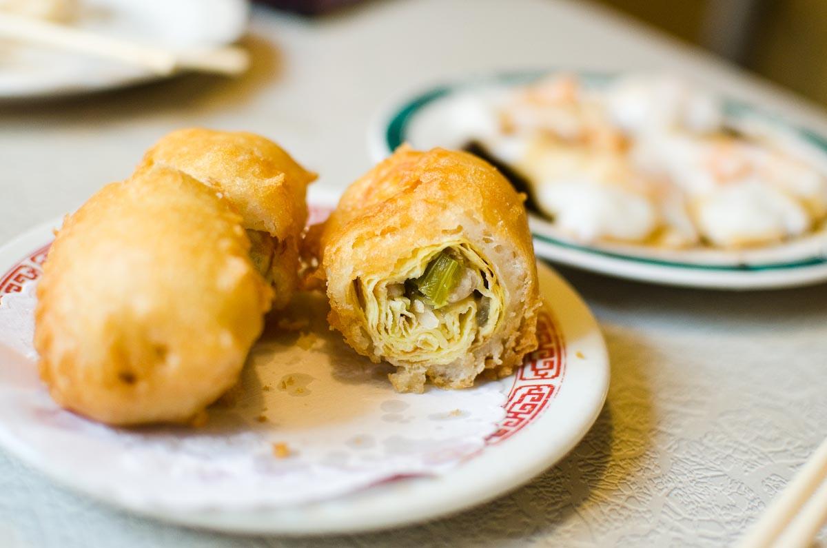 Egg Roll at Nom Wah Tea Parlor | Photo Credit: Find. Eat. Drink.