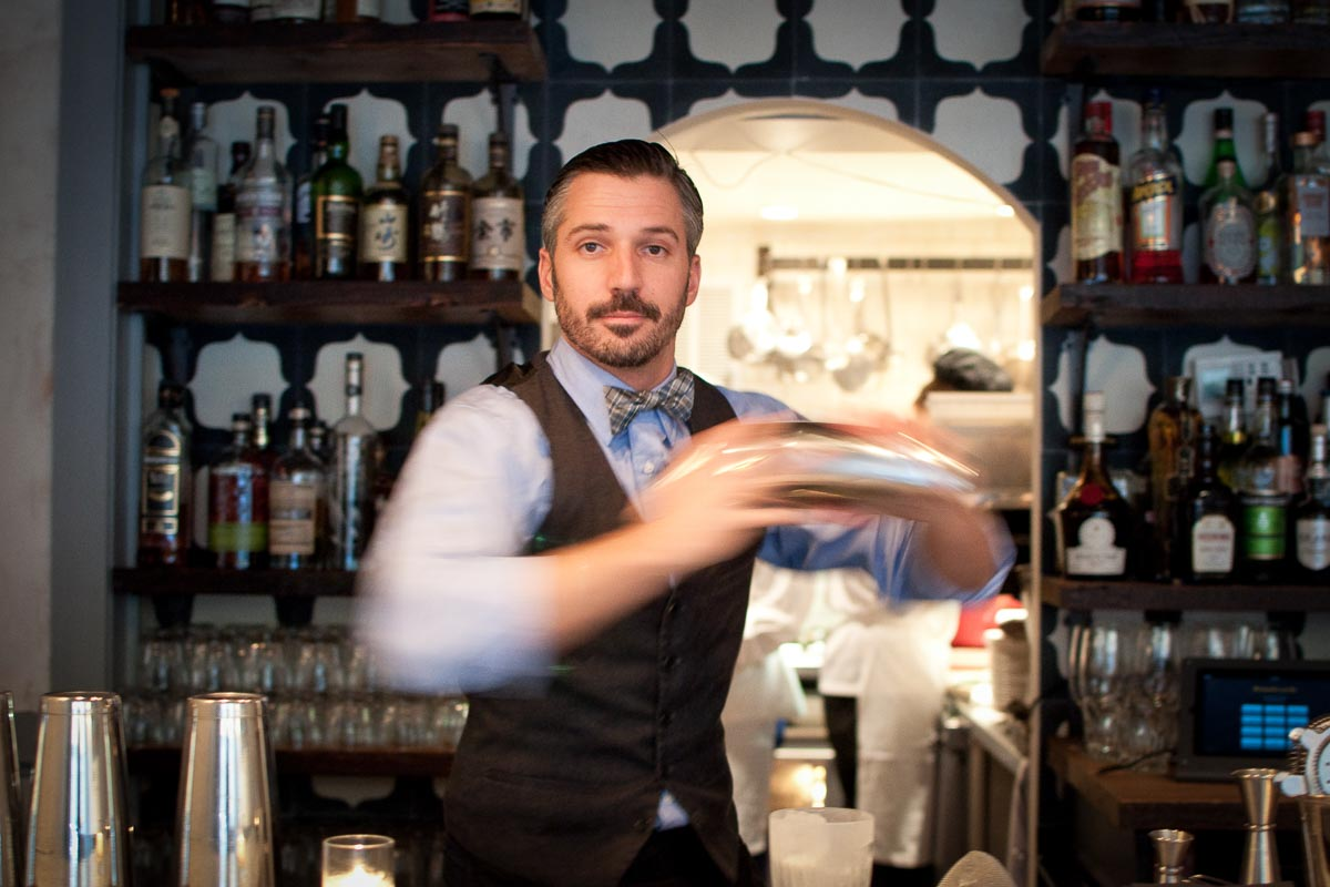 Bartender Xavier Herit at The Wallflower | Photo Credit: Find. Eat. Drink.