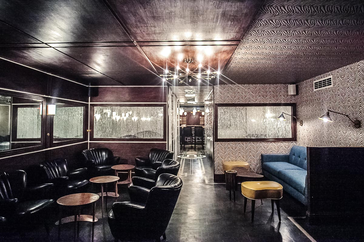 One of the four cocktail rooms at Dear Irving | Photograph courtesy of Dear Irving