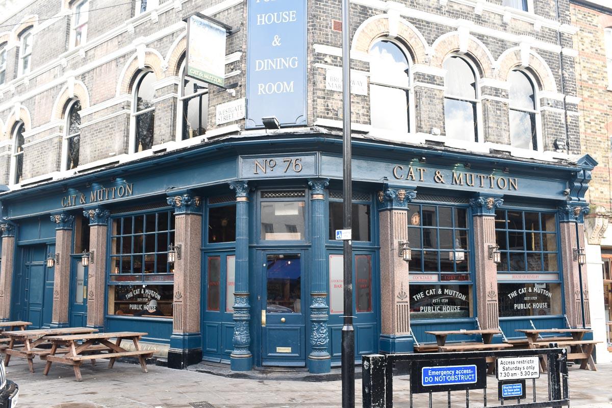 Cat & Mutton Pub   Photo Credit: Find. Eat. Drink.
