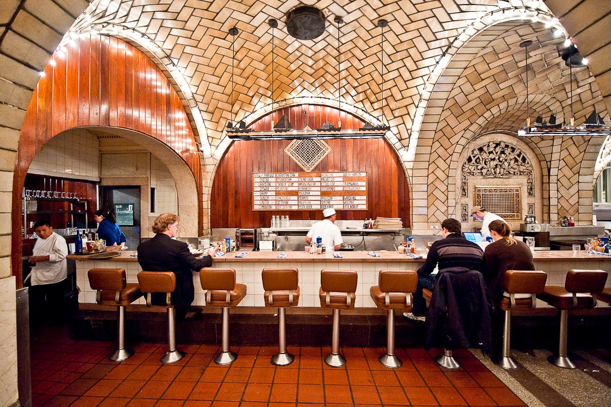 Grand Central Oyster Bar | Photo Credit: Jazz Guy [flickr]