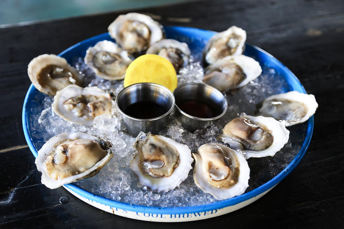Photograph courtesy of Leon's Oyster Shop