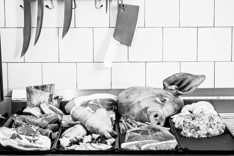 Pork at M.F. Dulock | Photograph courtesy of M.F. Dulock | Photo Credit: Galdones Photography