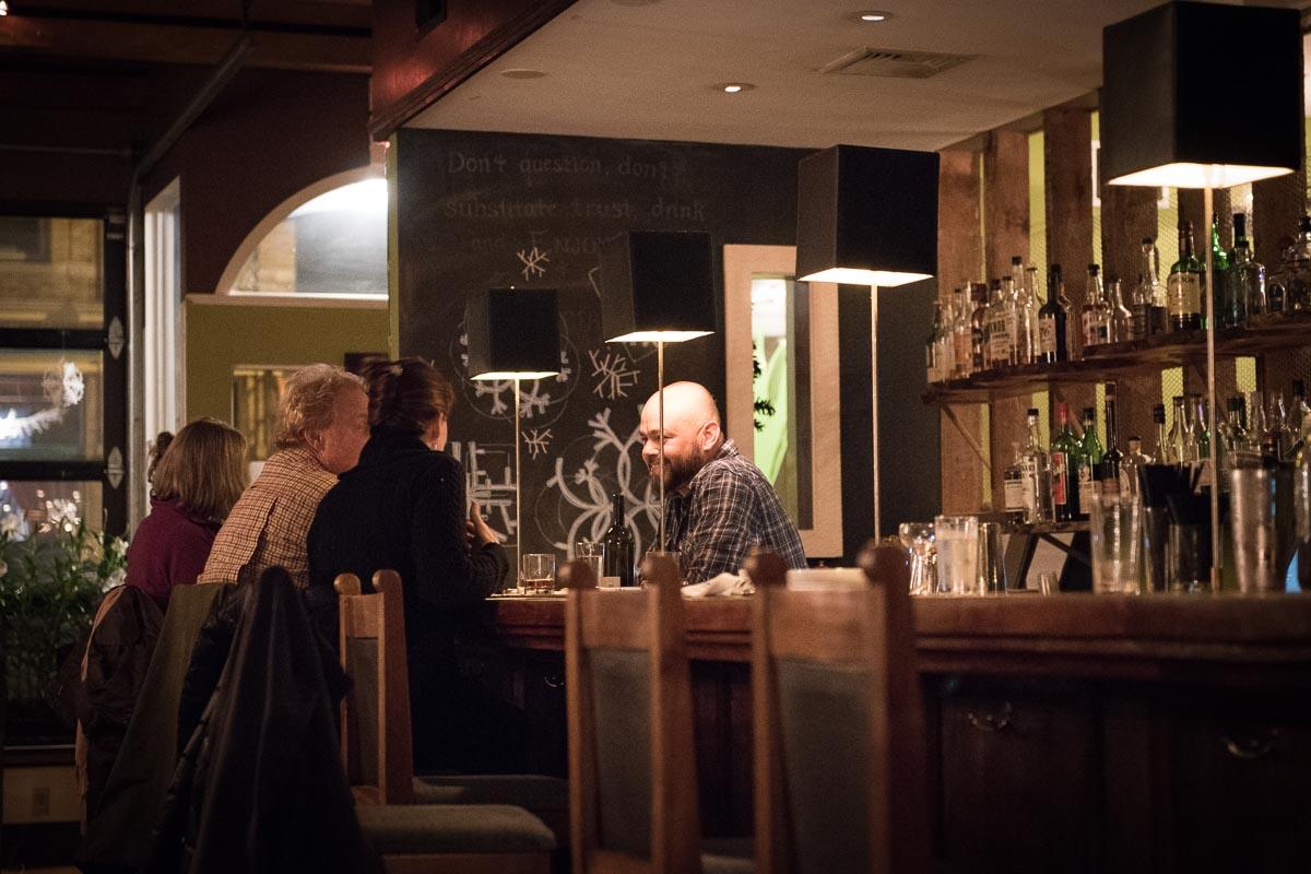 Bartender Walter at Allium   Photo Credit: Find. Eat. Drink.