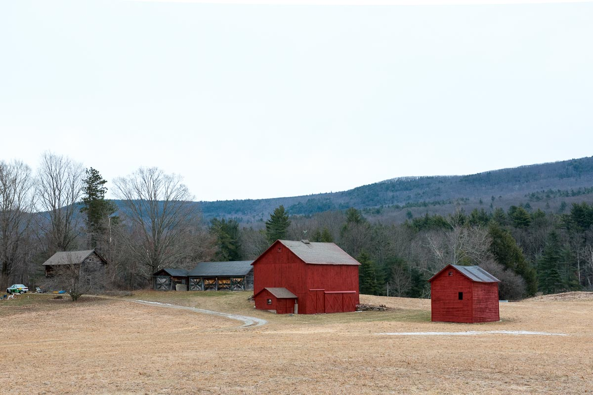 Red Barns in the Berkshires | Photo Credit: Find. Eat. Drink.