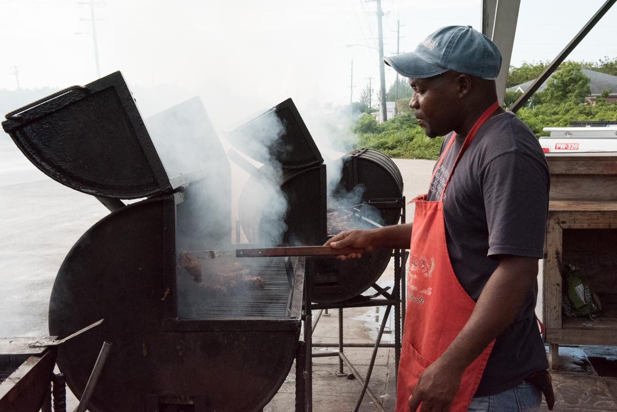 Andre's Smokehouse aka Red Bay Jerk Stand | Photo Credit: Find. Eat. Drink.