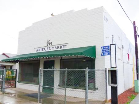 Photograph courtesy of Anita St. Market