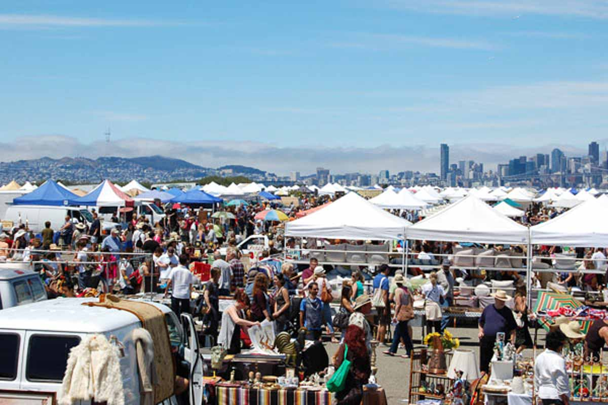 Photograph courtesy of Alameda Point Antiques Faire