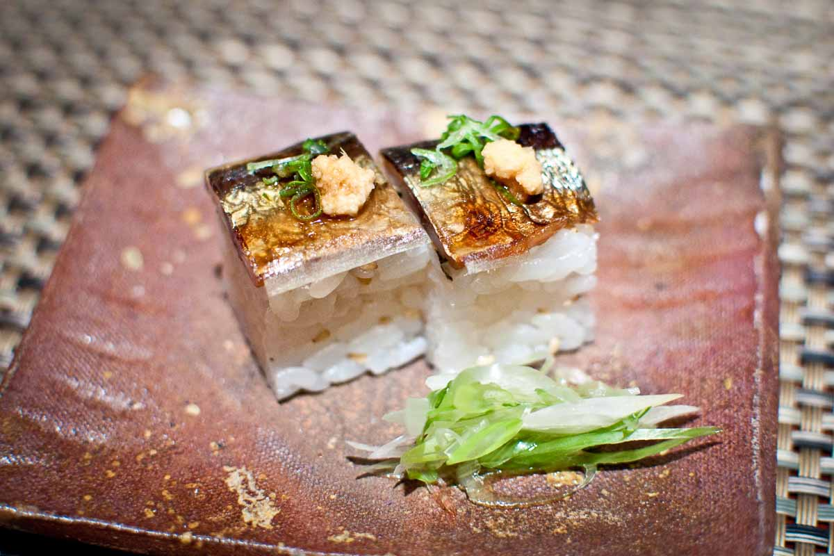 Pressed Sushi at Kyo Ya |   Photo Credit: Find. Eat. Drink.