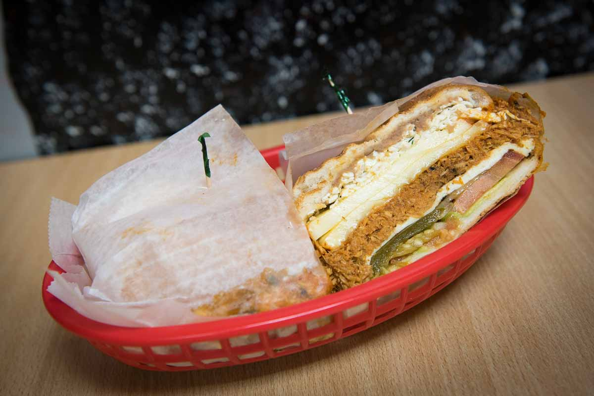 Costeña #5 Torta at Don Pepe | Photo Credit: Find. Eat. Drink.