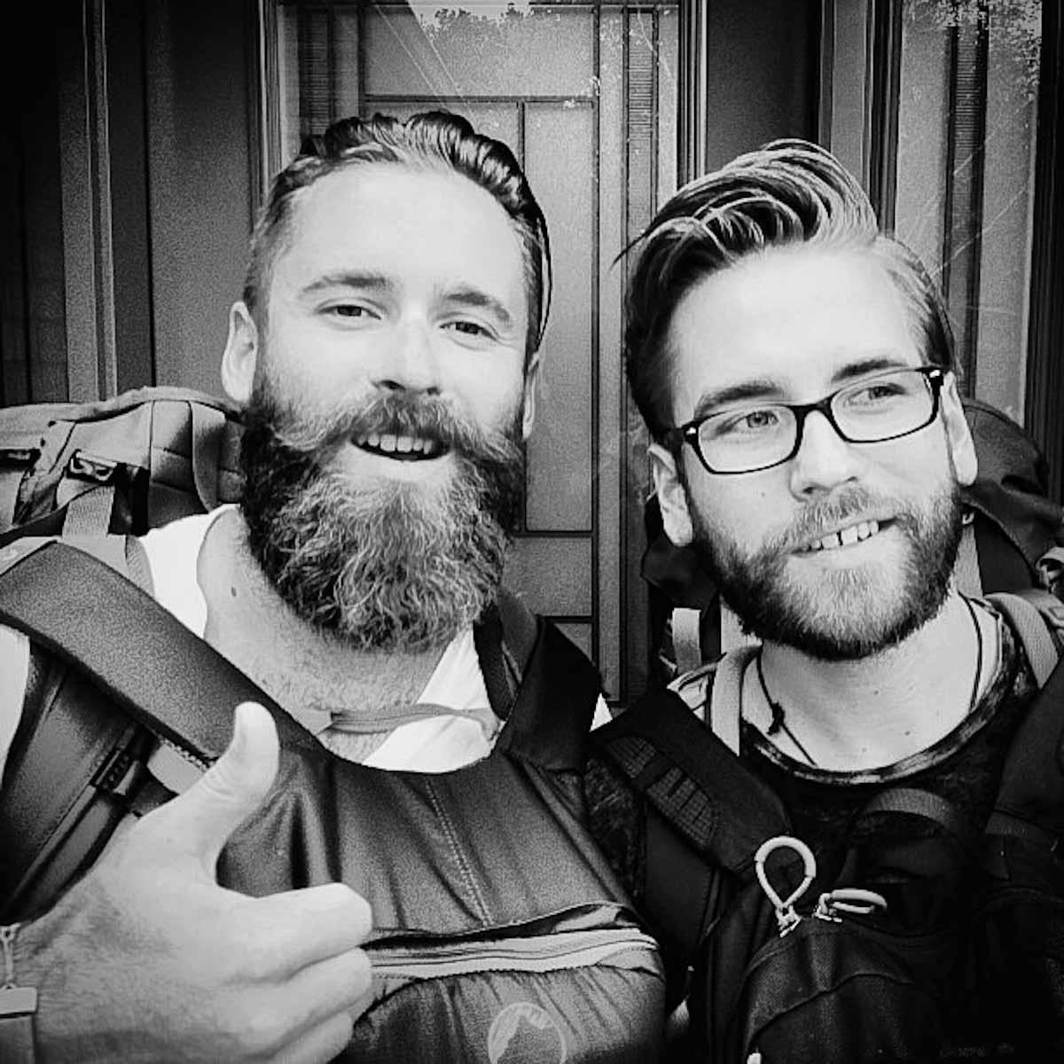 Dylan Benoit and brother Lucas Benoit