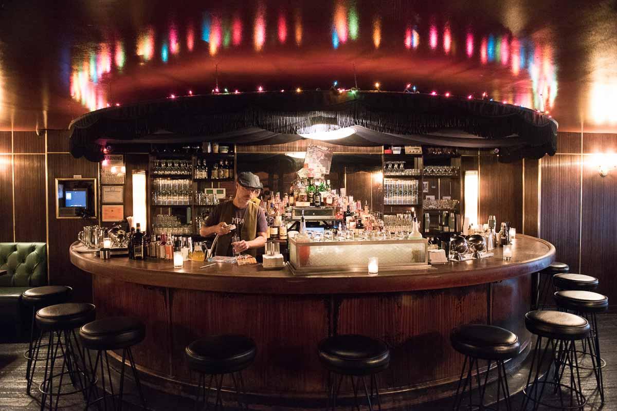 The original horseshoe bar  Photo Credit: Find. Eat. Drink.
