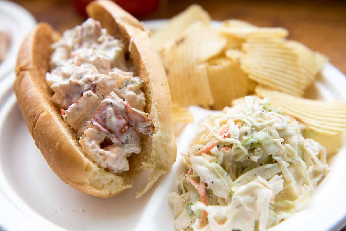 Lobster Roll at Duryea's Lobster Deck | Photo Credit: Find. Eat. Drink.