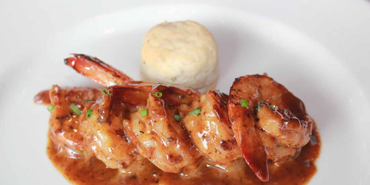 Barbecued shrimp at Emeril's | Photograph courtesy of Emeril's