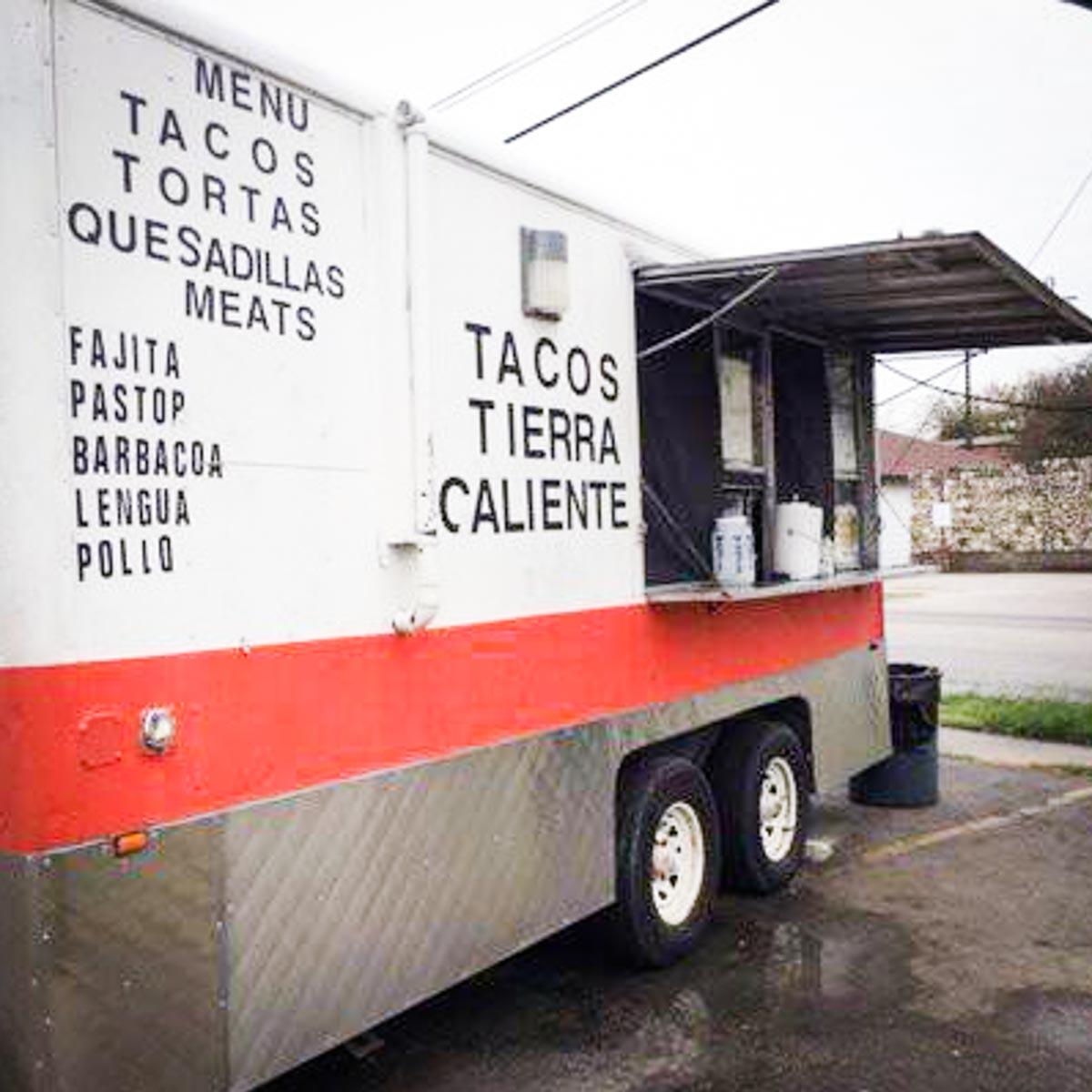 Photograph courtesy of Tacos Tierra Caliente