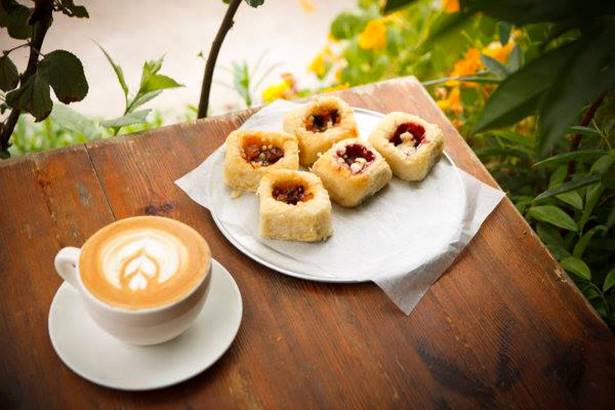 Kolache and coffee | Photograph courtesy of Revival Market