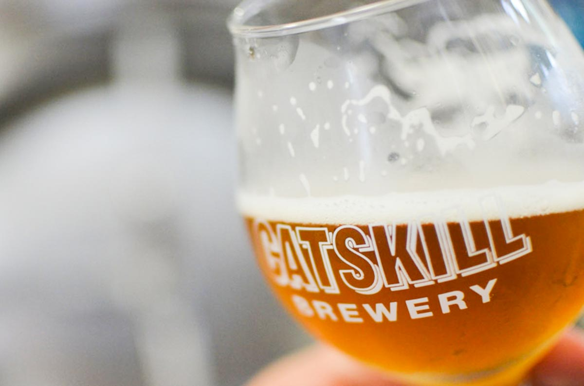 Photographs courtesy of Catskill Brewery