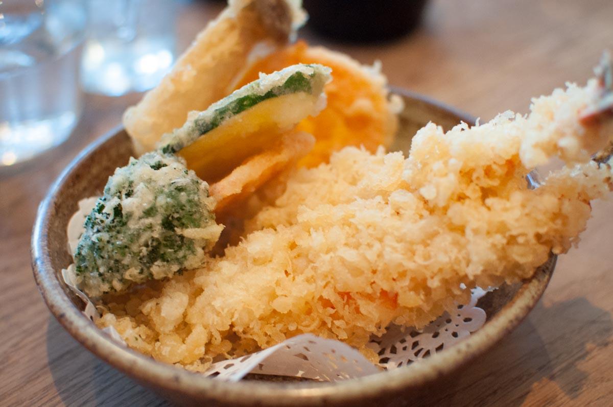 Tempura at Koya Bar | Photo Credit: Find. Eat. Drink.