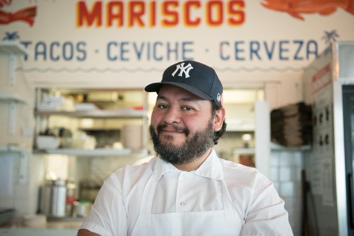 Chef Oscar Hernandez | Photo Credit: Find. Eat. Drink.