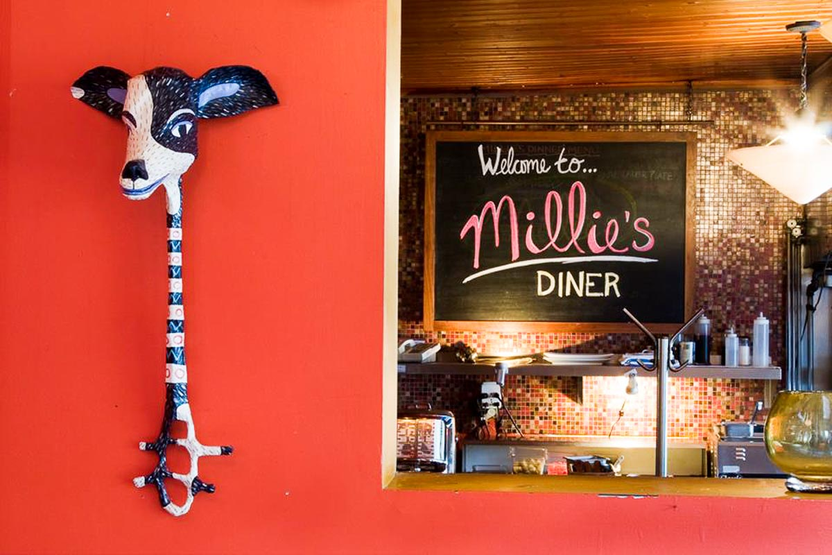 Photograph courtesy of Millie's Diner