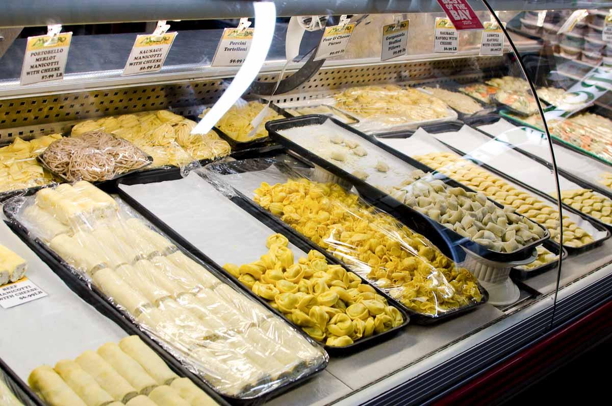 Mazzaro's fresh-made pasta   Photo Credit: Find. Eat. Drink.