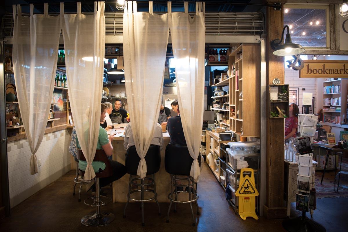 Japanese restaurant Kappo inside the East End Market | Photo Credit: Find. Eat. Drink.