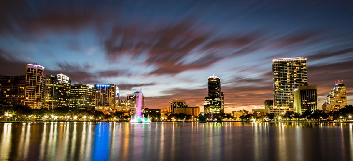 Orlando Skyline | Photo Credit: Visit Orlando and cover photo credit:Neil Thompson [flickr]