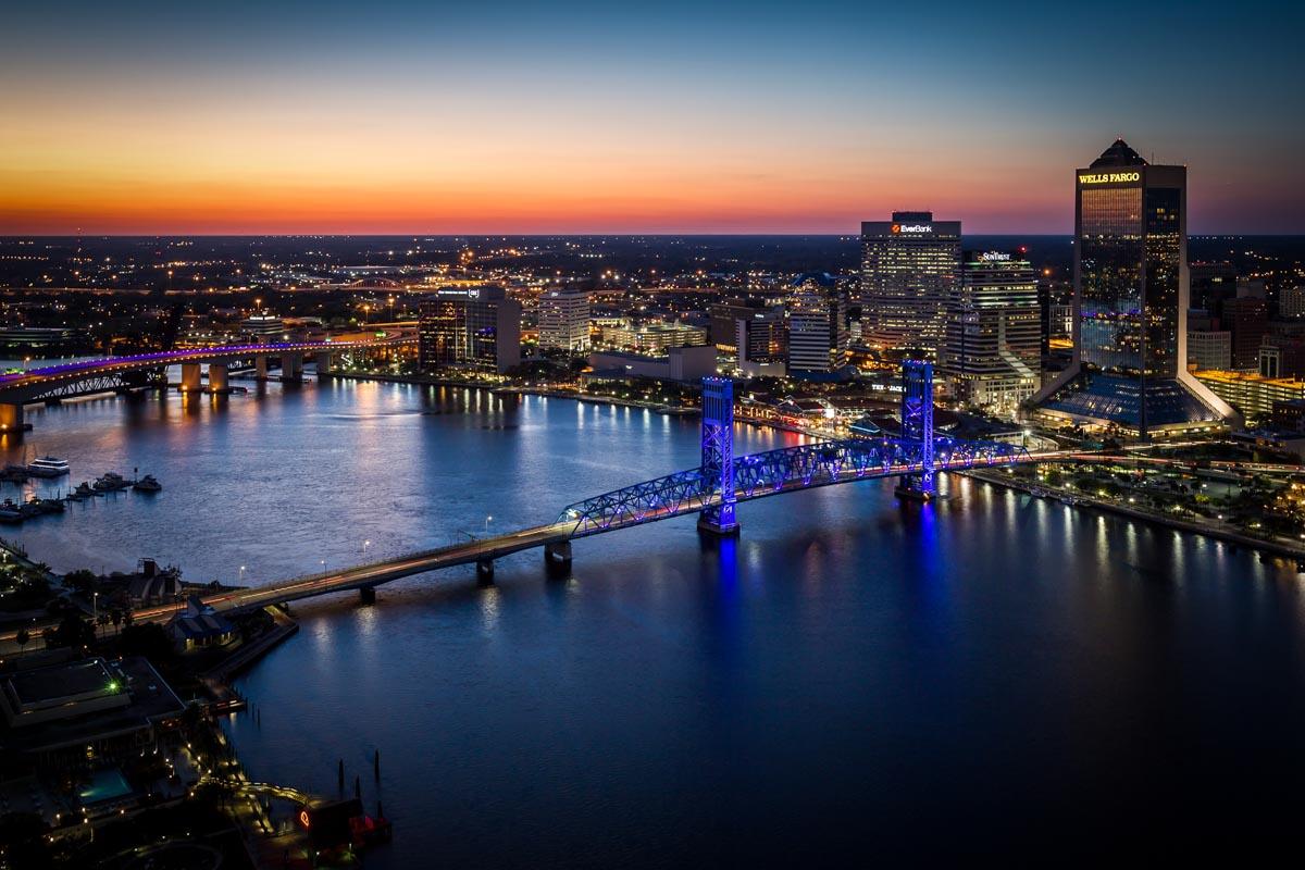 Downtown Jacksonville   Photo Credit:Ryan Ketterman for Visit Jacksonville