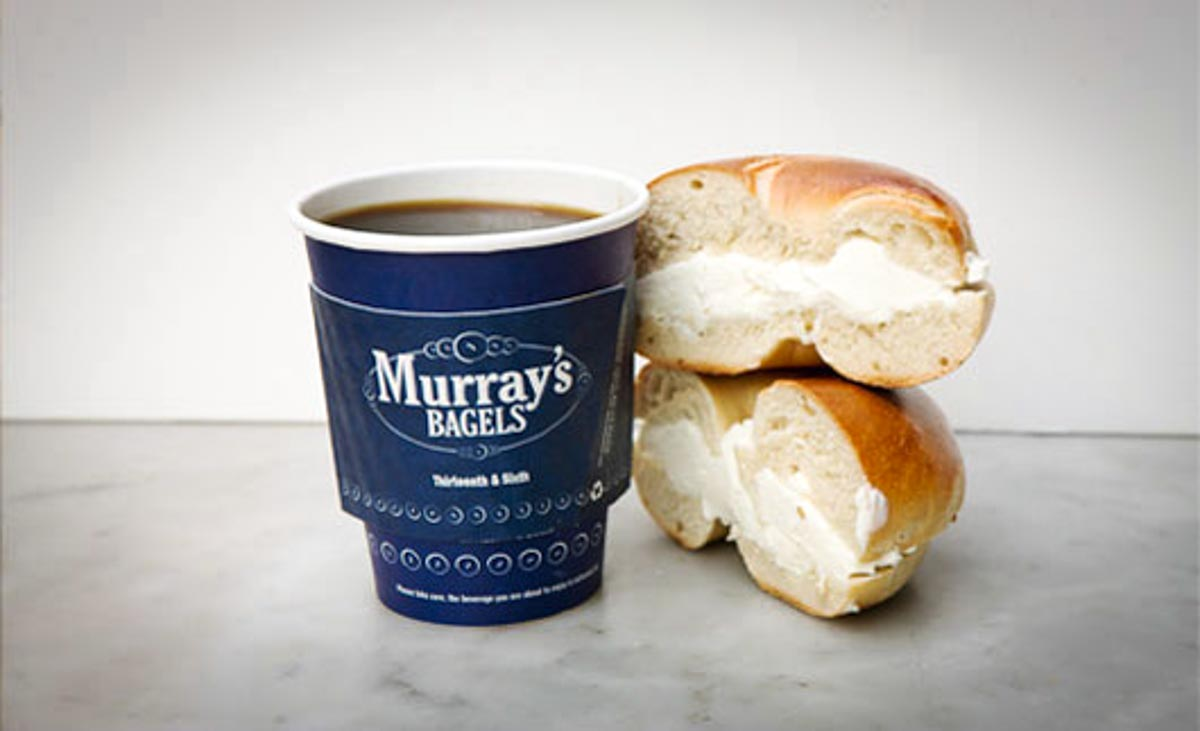 Photograph courtesy of Murray's Bagels