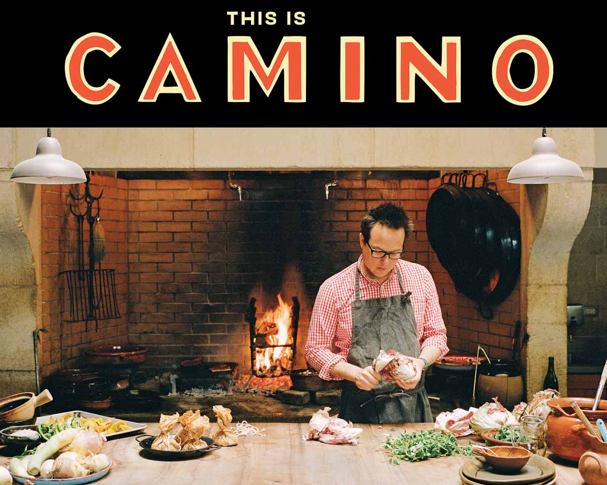 Russ Moore at Camino for his new cookbook | Photo Credit Yoko Takahashi |Published by Ten Speed Press, an imprint of Penguin Random House