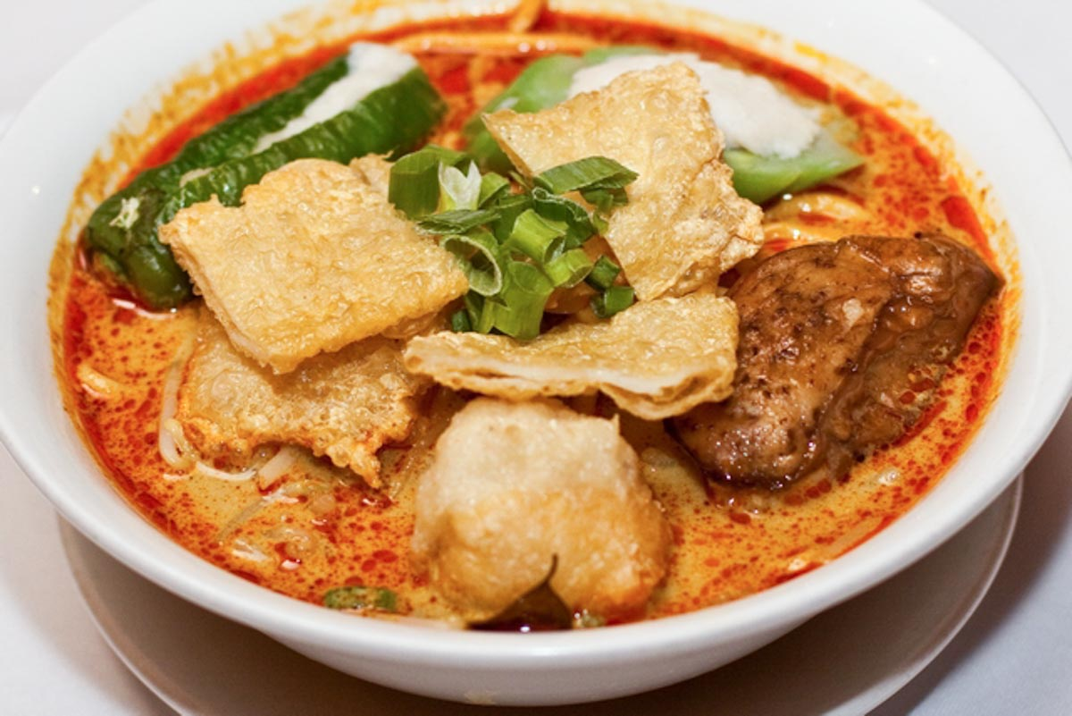Curry Mee | Photograph courtesy of Nyonya