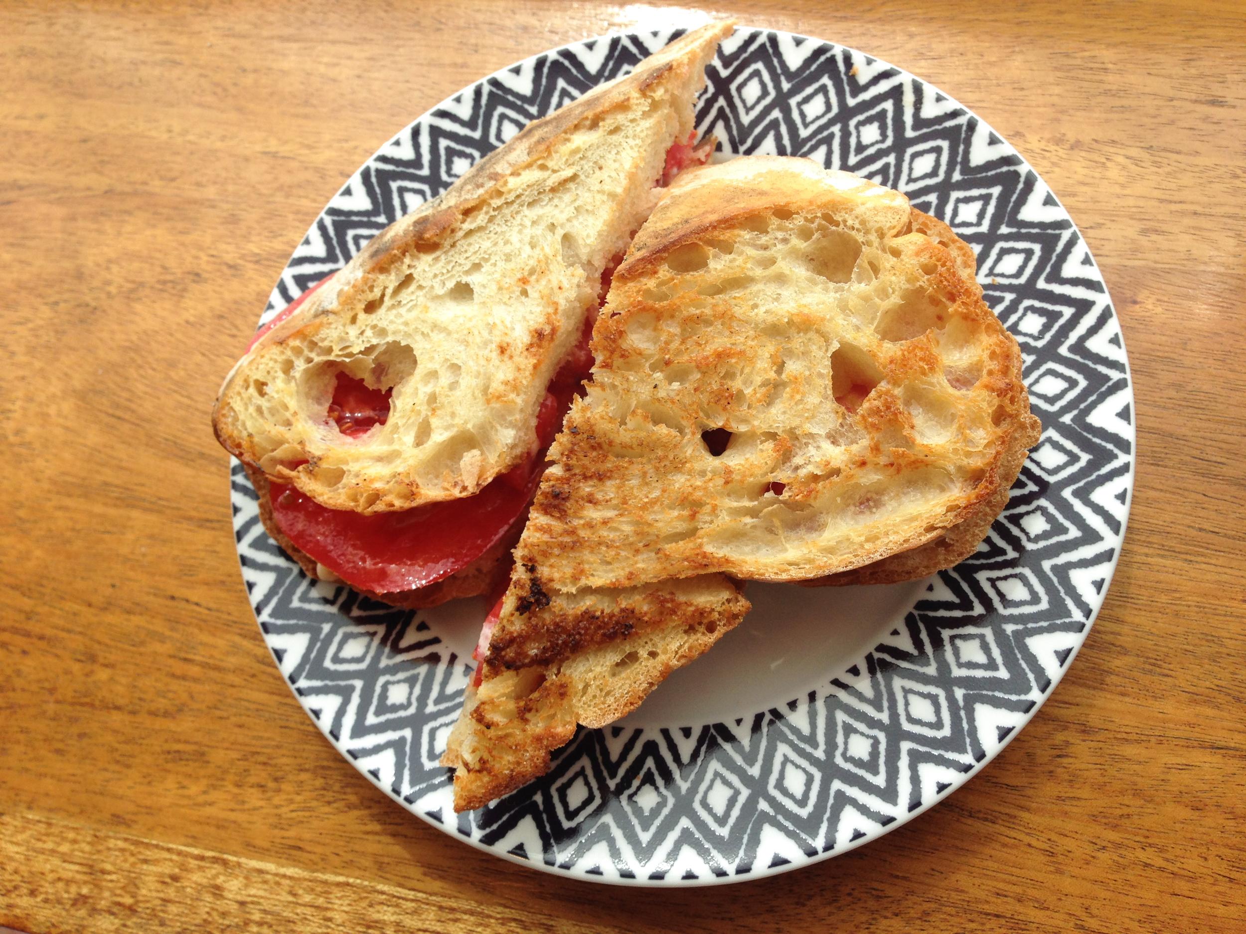 Sandwich at Bonfiglio & Bread | Photo Credit: Find. Eat. Drink.